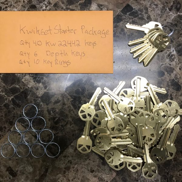 Buy a locksmith starter pack online at Realty Rekey